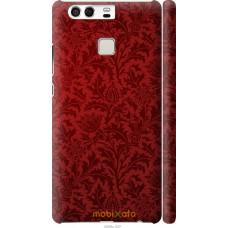 Чехол на Huawei P9 Чехол цвета бордо