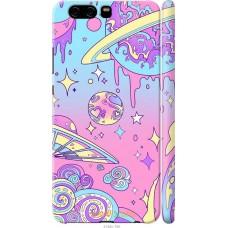 Чехол на Huawei P10 'Розовый космос