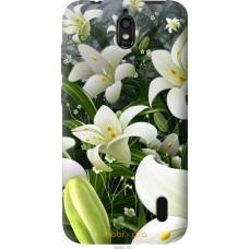 Чехол на Huawei Ascend Y625 Лилии белые