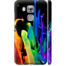 Чехол на Huawei Nova Plus брызги краски
