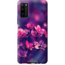 Чехол на Huawei Honor 30 Lite Пурпурные цветы