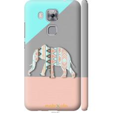 Чехол на Huawei Nova Plus Узорчатый слон