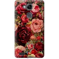 Чехол на Huawei Ascend Mate 7 Прекрасные розы