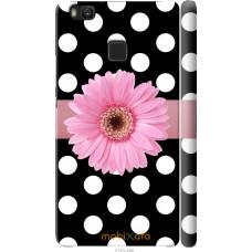 Чехол на Huawei P9 Lite Цветочек горошек v2