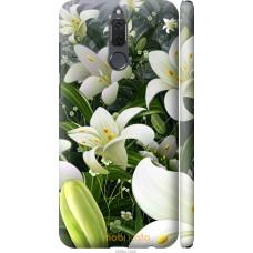 Чехол на Huawei Mate 10 Lite   Honor 9i Лилии белые