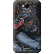 Чехол на Huawei Ascend Y5C gamer cat
