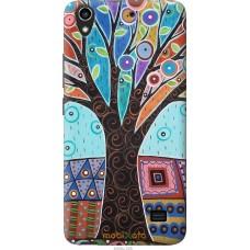 Чехол на Huawei G620S Арт-дерево