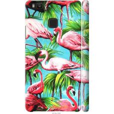 Чехол на Huawei P9 Lite Tropical background
