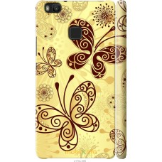 Чехол на Huawei P9 Lite Рисованные бабочки