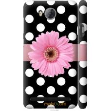 Чехол на Huawei Y3II | Y3 2 Цветочек горошек v2