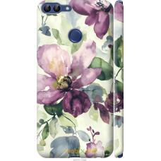 Чехол на Huawei P Smart Акварель цветы