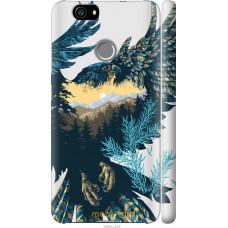 Чехол на Huawei Nova Арт-орел на фоне природы