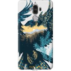 Чехол на Huawei Mate 9 Арт-орел на фоне природы