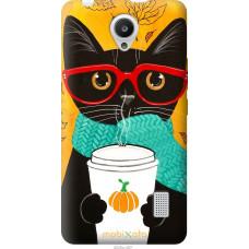 Чехол на Huawei Y635 Осенний кот
