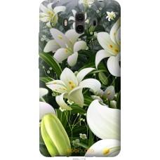Чехол на Huawei Mate 10 Лилии белые