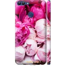 Чехол на Huawei P Smart Розовые цветы
