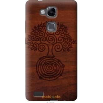 Чехол на Huawei Ascend Mate 7 Узор дерева