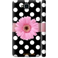 Чехол на Huawei Enjoy 5 Цветочек горошек v2