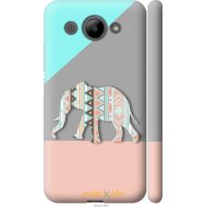 Чехол на Huawei Y3 2017 Узорчатый слон