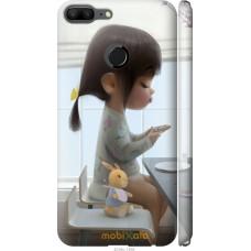 Чехол на Huawei Honor 9 Lite Милая девочка с зайчиком