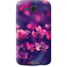Чехол на Huawei Ascend Y600 Весенние цветочки