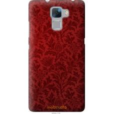 Чехол на Huawei Honor 7 Чехол цвета бордо