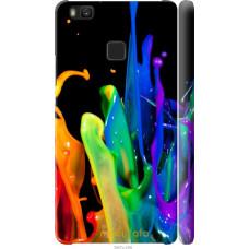 Чехол на Huawei P9 Lite брызги краски
