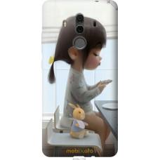 Чехол на Huawei Mate 10 Pro Милая девочка с зайчиком
