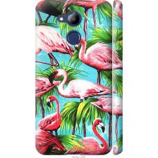 Чехол на Huawei Honor 6C Pro Tropical background