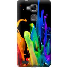Чехол на Huawei Ascend Mate 7 брызги краски