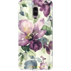 Чехол на Huawei Mate 9 Pro Акварель цветы