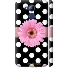 Чехол на Huawei Honor 6C Pro Цветочек горошек v2