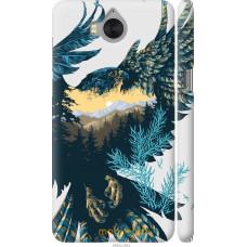 Чехол на Huawei Y5 2017 Арт-орел на фоне природы