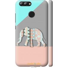 Чехол на Huawei Nova 2 Узорчатый слон