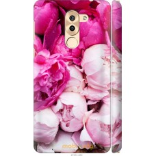 Чехол на Huawei Honor 6X Розовые цветы