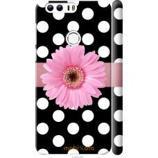Чехол на Huawei Honor 8 Цветочек горошек v2