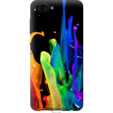 Чехол на Huawei Nova 2S брызги краски