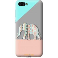 Чехол на Huawei Nova 2S Узорчатый слон