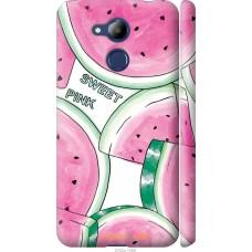 Чехол на Huawei Honor 6C Pro Розовый арбузик