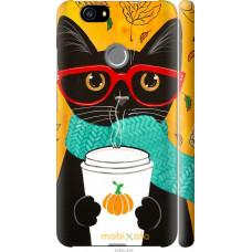 Чехол на Huawei Nova Осенний кот