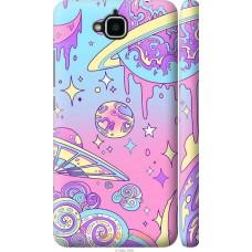 Чехол на Huawei Y6 Pro 'Розовый космос