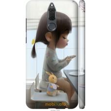 Чехол на Huawei Mate 10 Lite | Honor 9i Милая девочка с зайч