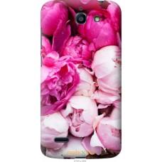 Чехол на Huawei G730 Розовые цветы