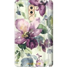 Чехол на Huawei Honor 6X Акварель цветы