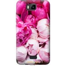 Чехол на Huawei Ascend Y5C Розовые цветы