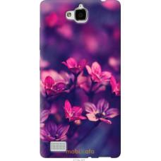 Чехол на Huawei Honor 3C Весенние цветочки