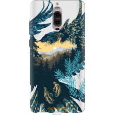 Чехол на Huawei Mate 9 Pro Арт-орел на фоне природы