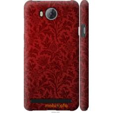 Чехол на Huawei Y3II | Y3 2 Чехол цвета бордо