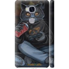 Чехол на Huawei Honor 5X gamer cat