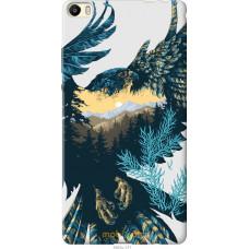 Чехол на Huawei P8 Max Арт-орел на фоне природы